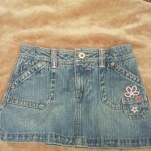 Girls denim skirt size 10